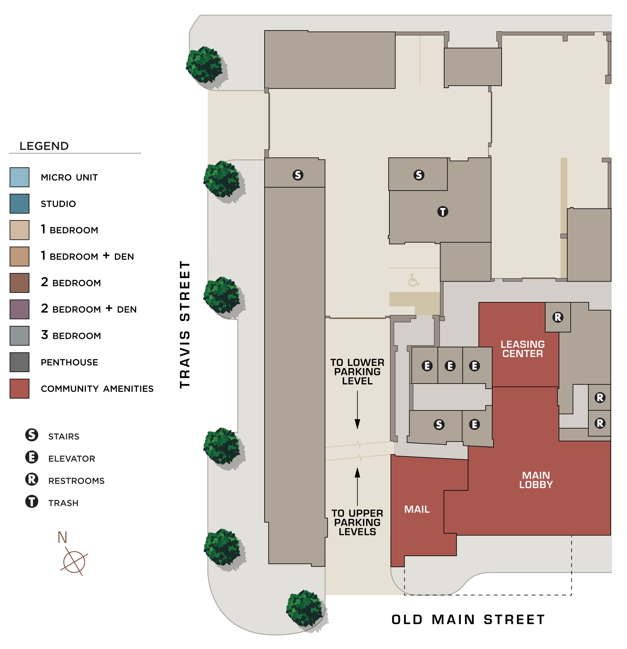 Latitude Apartments Site Plan Base