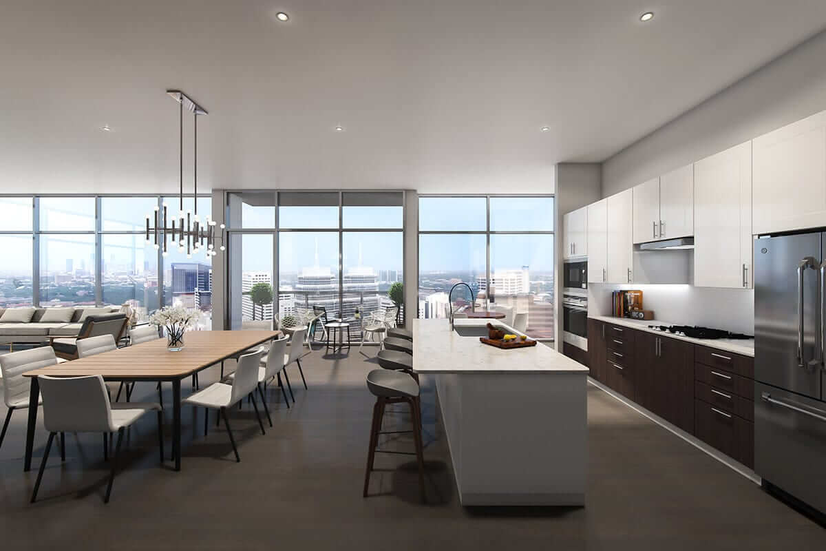 Latitude Med Center Plan C1D: Kitchen
