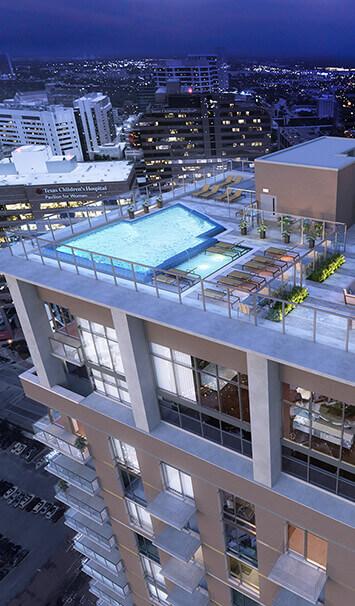 Latitude Med Center Luxury Apartments In Houston