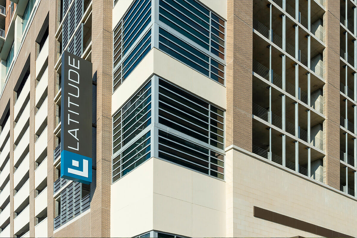 Latitude Med Center Exterior Sign