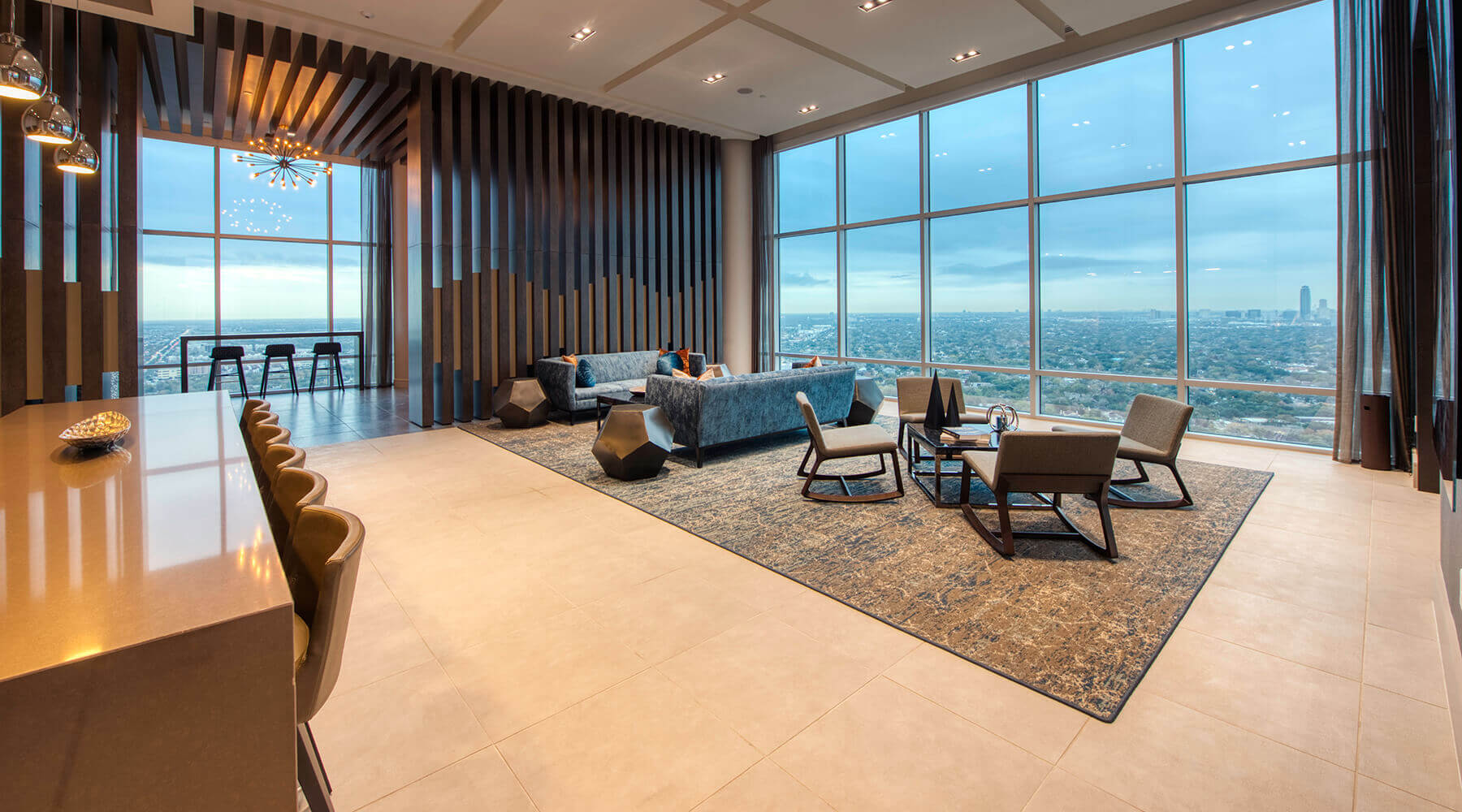 Downtown Houston Apartment Sky Lounge